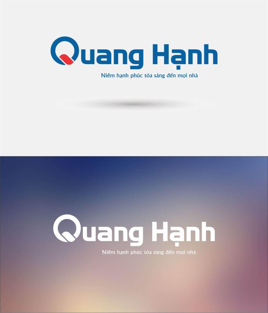 thiết kế logo quang hạnh